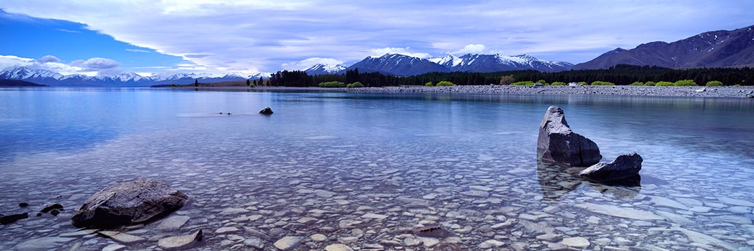 Lake Tekapo Winter, New Zealand