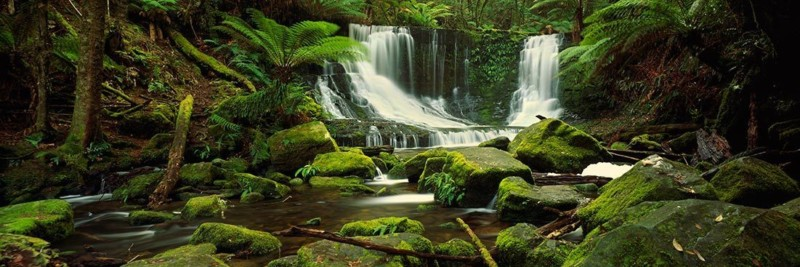 Horseshoe Falls, Tasmania Waterfalls - Landscape Photography