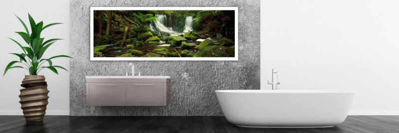 Horseshoe Falls, Tasmania Waterfalls - Wall Art