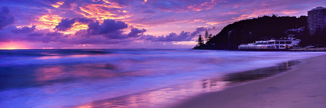 Burleigh Heads Sunrise, Gold Coast