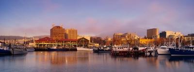 Hobart at Dawn