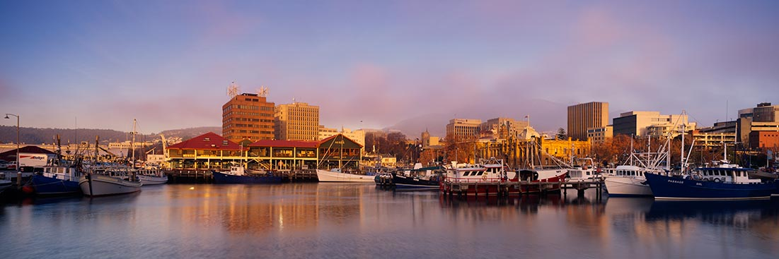 Victoria Docks, Hobart Sunrise