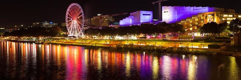 Brisbane Wheel, South Bank