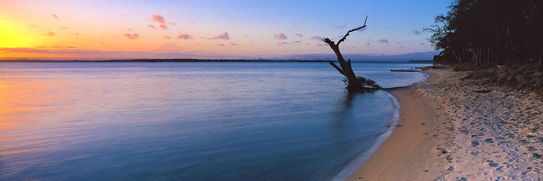 Bribie Island Sunset Photos