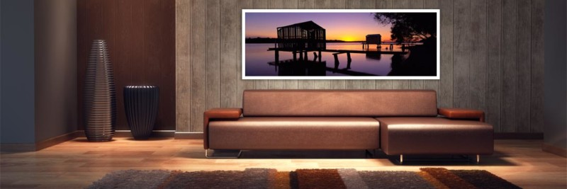 Maroochy River Boat Houses - Wall Art