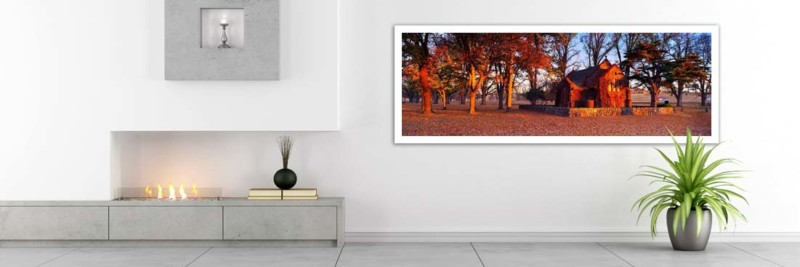Gostwyck Chapel in Autumn - Wall Art