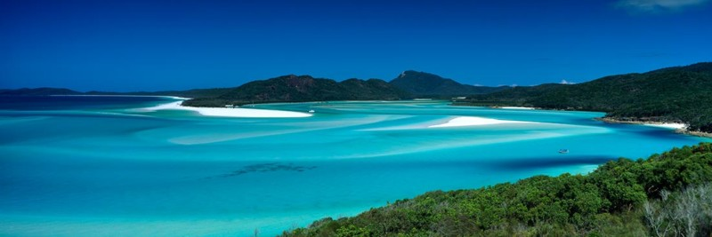 Whitsundays Whitehaven Beach Landscape