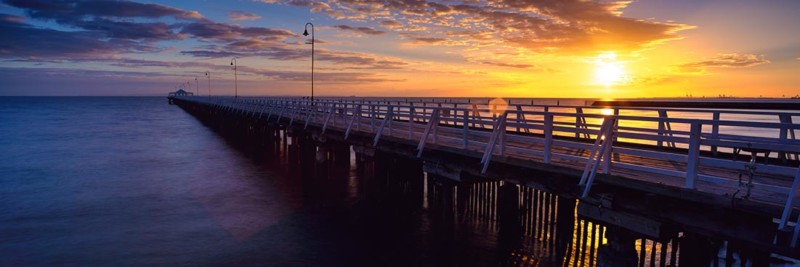 Shorncliffe Jetty Brisbane Sunrise