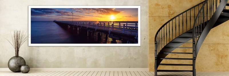 Shorncliffe Jetty Brisbane Sunrise - Wall Art