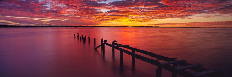 Raby Bay, Cleveland Sunset Jetty
