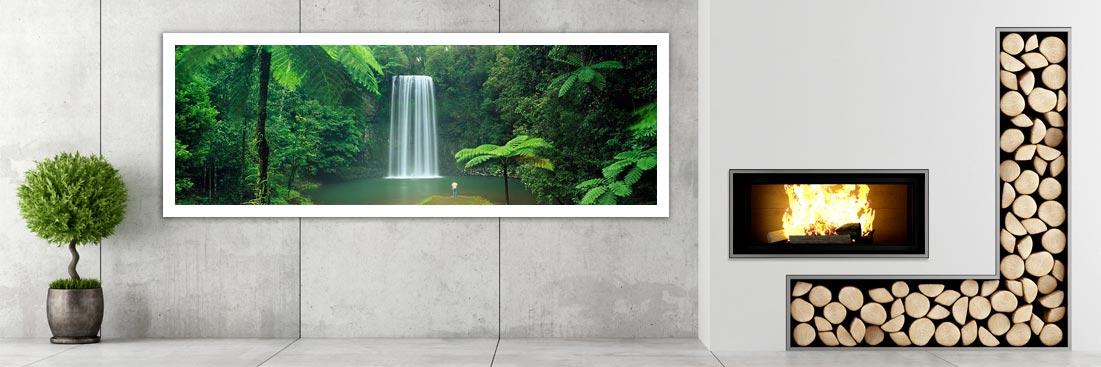 Millaa Millaa, Tropical Waterfalls - Wall Art