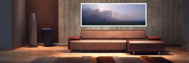 Foggy Morning Numinbah Valley - Wall Art