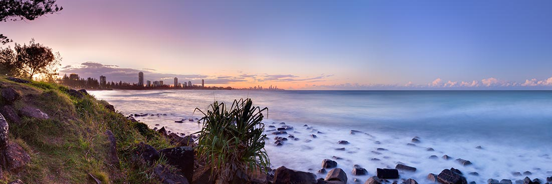Burleigh Heads Sunset