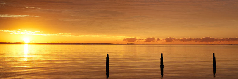 Shorncliffe Sunrise, Brisbane - Landscape Photography