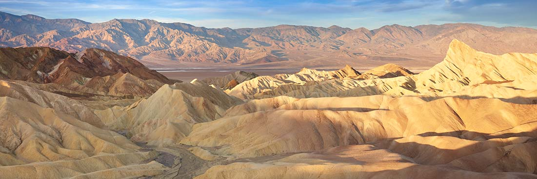 Zabriskie Point, Death Valley Photos