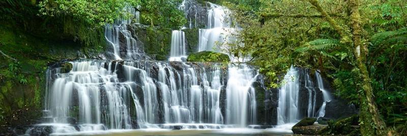 Purakaunui Falls, The Catlins Waterfall Photos